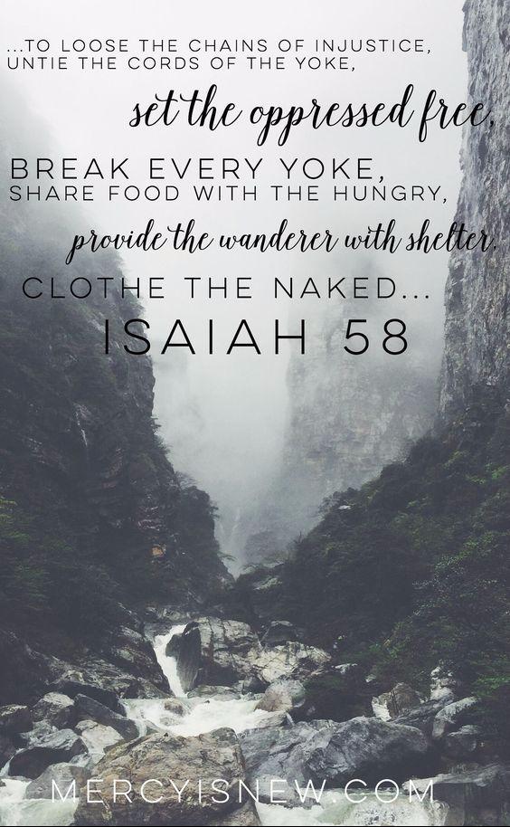 isaiah 58-6